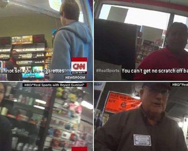 social experiment teen buying gun