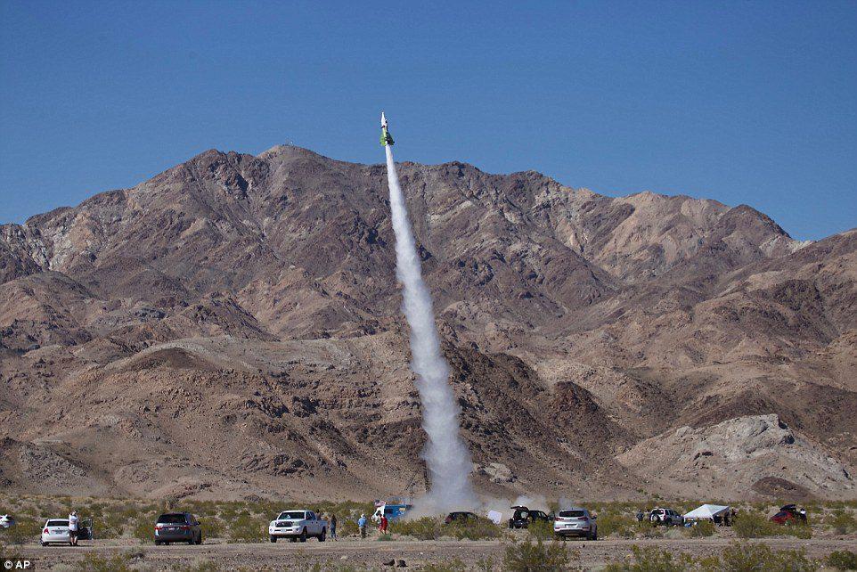 Mad' Mike Hughes rocket man