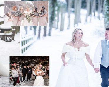Rainford-Lucock white wedding