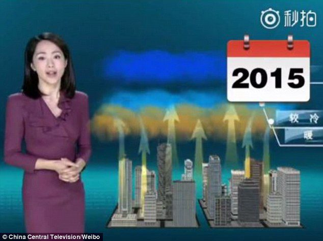Yang Dan weather girl