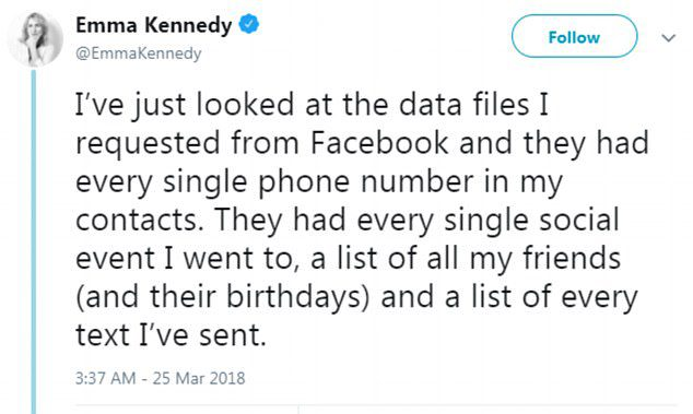 facebook user data security