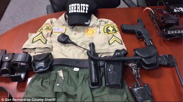 fake sheriff california