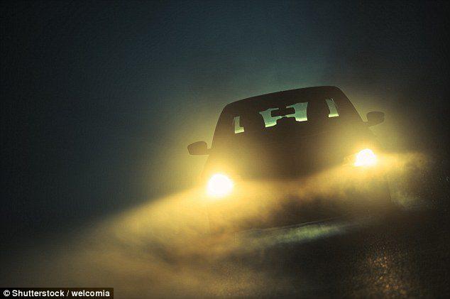 modern car headlights danger