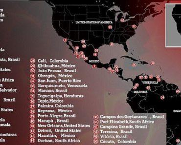 world's most dangerous cities