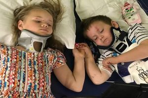 Clemens siblings car crash survival