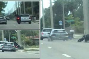 Florida road rage dispute