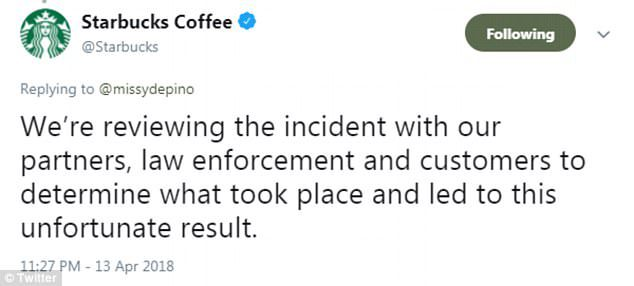 black men starbucks arrest