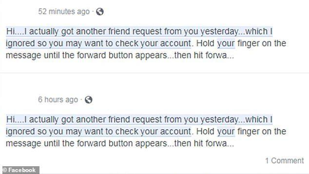 facebook viral hoax