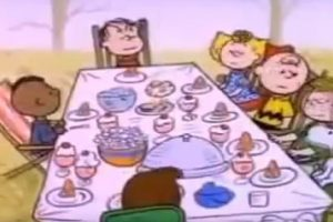 A Charlie Brown Thanksgiving racism