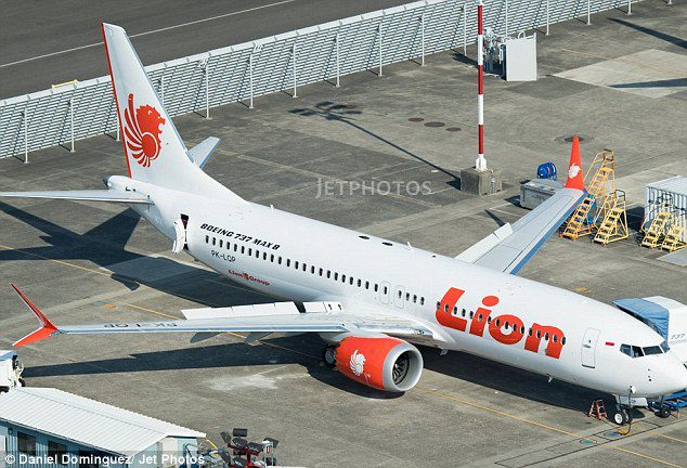 Sony Setiawan lion air plane crash
