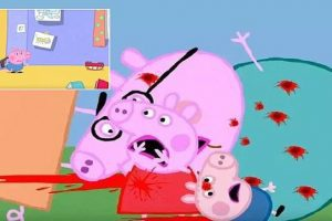 peppa pig parody warning