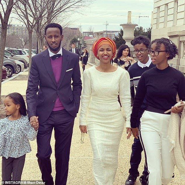 Ilhan Omar splits husband
