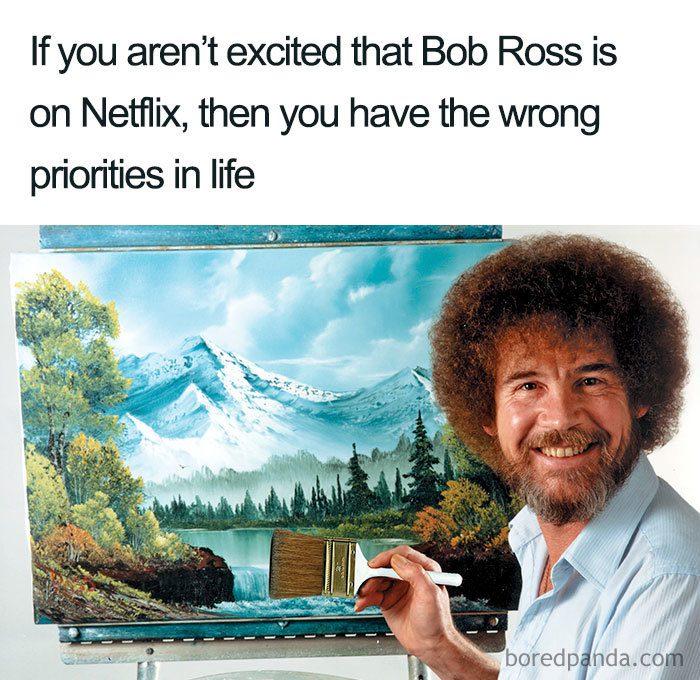 bob ross memes