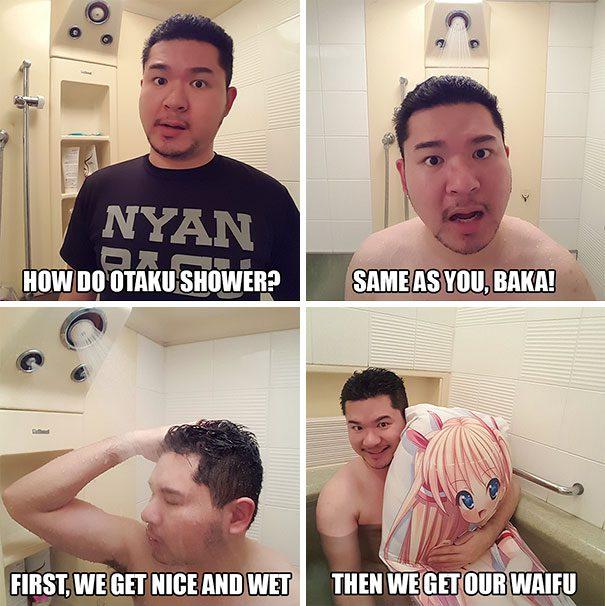 shower meme