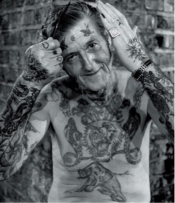 old people with tattoos
